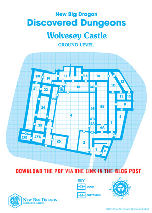 Save vs dragon discovered dungeons wolvesey castle for Ground floor vs first floor